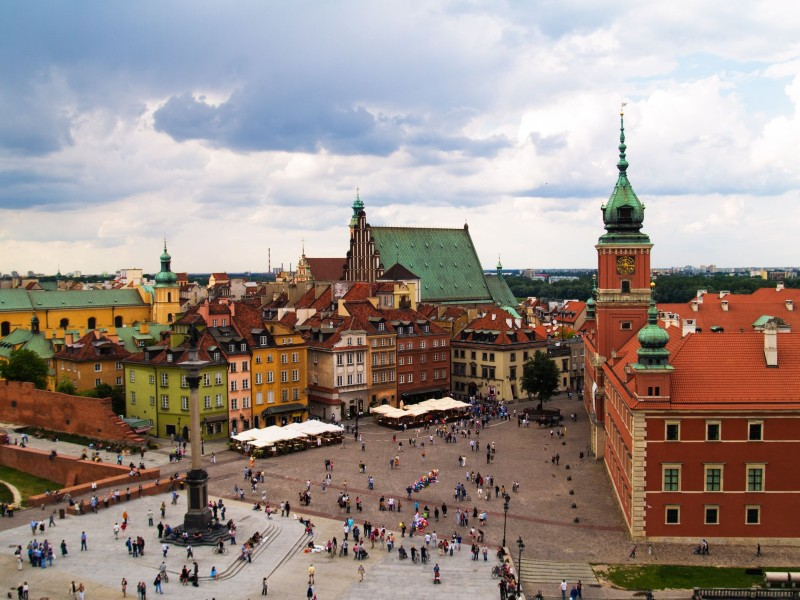 Old-Town-Square-Warsaw-Poland