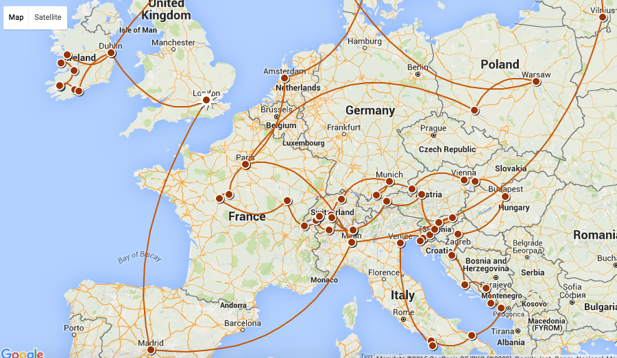 3 Month Europe Backpacking Recap Well Traveled Wife
