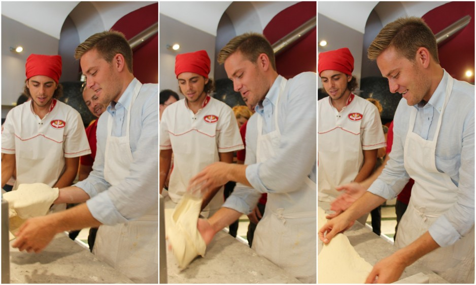pizza making class in naples13