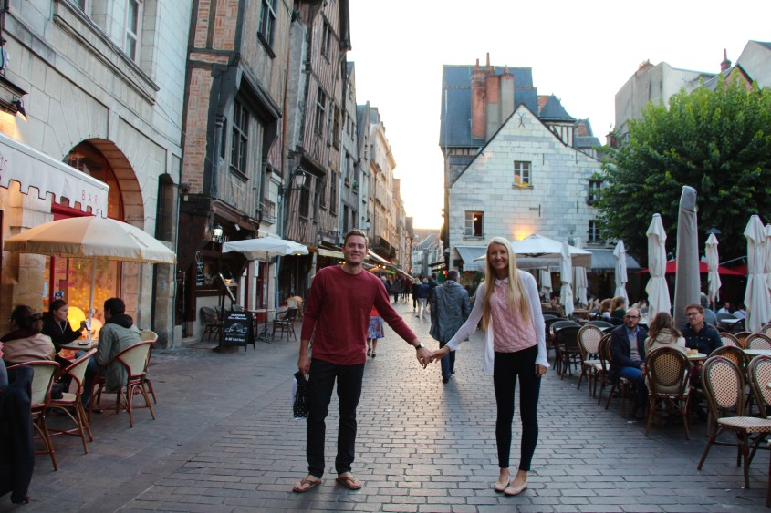 Taking Chase Back To Where I Studied Abroad In Tours France - Tours france