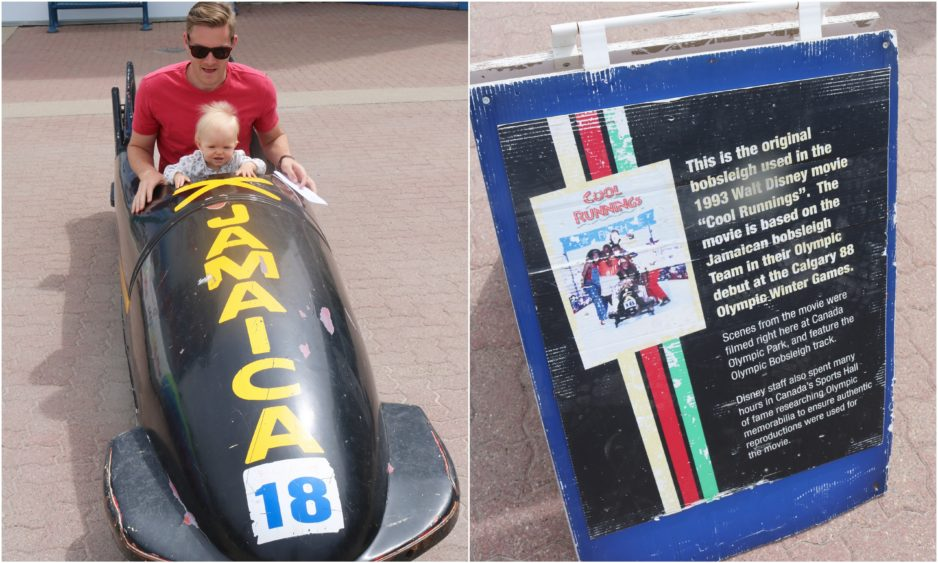 Bobsled Team Used During Their Epic Run In The Calgary Olympics Showcased Best Movie Cool Runnings